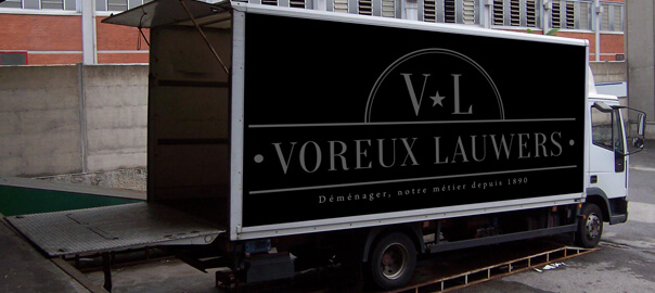 Camion de déménagement