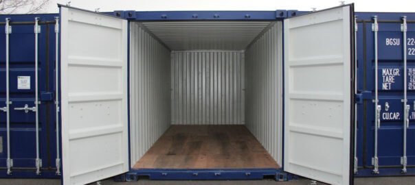 Location d'un container à Lille
